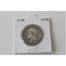 Norsk 2kr 1878