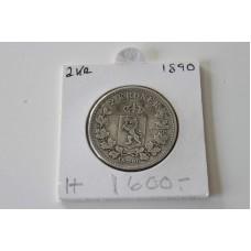 Norsk 2kr 1890