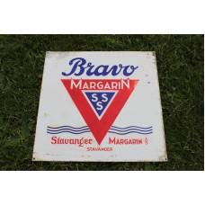 Bravo margarin skilt